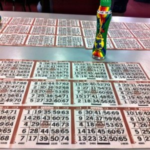 Bingo cards and DABBER!