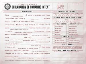 Have each other fill this out~